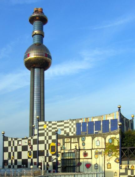 Centrale di teleriscaldamento, Vienna Spittelau