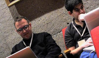 Cory Doctorow e Aaron Swartz