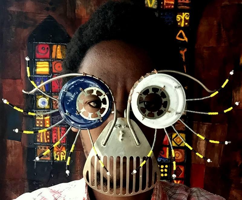 Opera dell'artista keniotaCyrus Kabiru