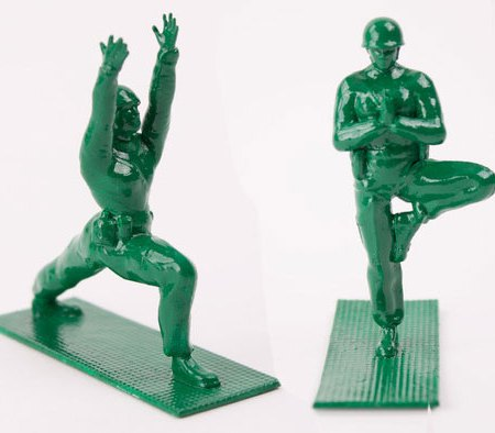 Yoga Joes by Dan Abramson