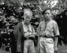 David Bowie negli scout, c. 1959