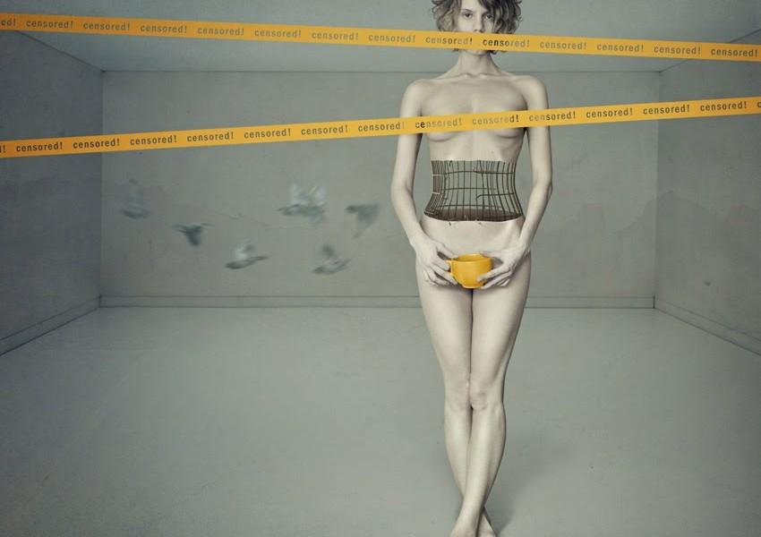 Scatto della fotografa ucrainaElena Vizerskaya aka KaSSandrA