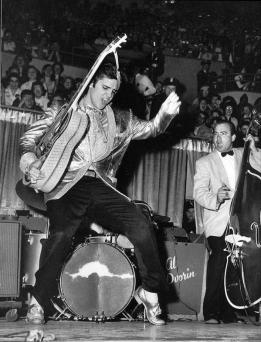 Elvis in concerto, anni 50