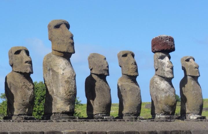 Isola di Pasqua - Statue
