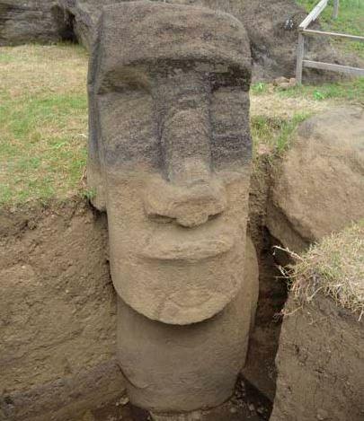 Isola di Pasqua - Statua Moai