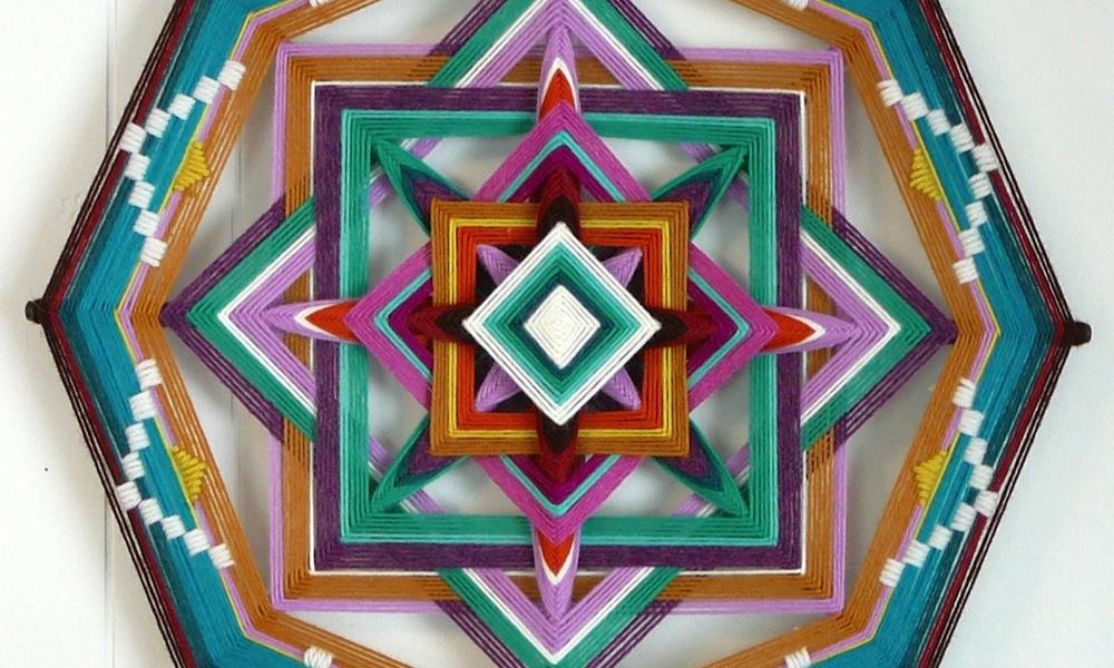 """""""Ojos de Dios""""dell'artista statunitenseJay Mohler"""