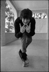 John Lennon. Fotografia di Henry Grossman, 1965