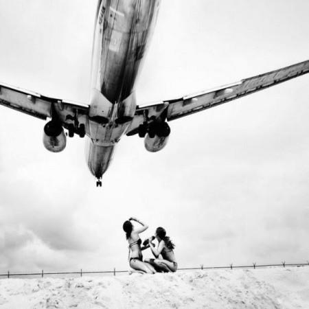 """Scatto dalla serie """"Jet Airliner"""" del fotografo austriacoJosef Hoflehner"""