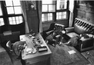 La giunta comunale di Lipsia (Germania): il suicidio di Vice sindaco e staff, 1945. Foto di Margaret Bourke-White