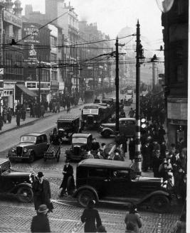 1920, Market Street di Manchester