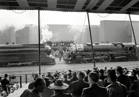 Fiera mondiale di New York, concorso ferrovie.