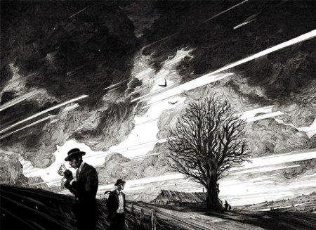 Illustrazionedell'artista franceseNicolas Delortis