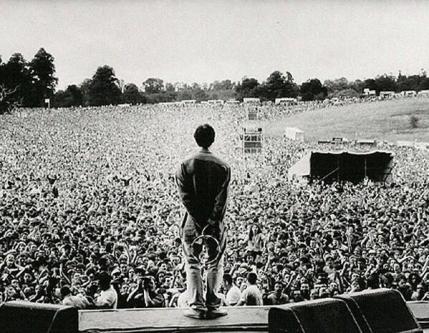 Gli Oasis a Knebworth, 1996