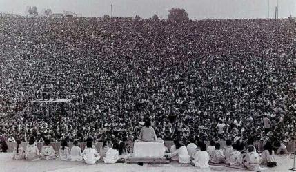 Cerimonia di apertura di Woodstock del 1969