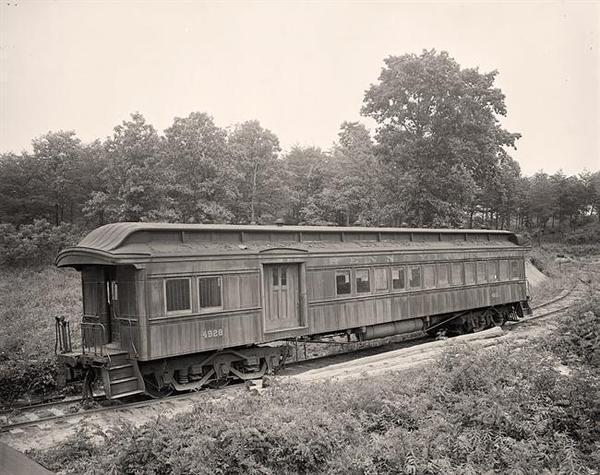 Vecchio vagone