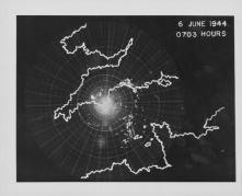 L'invasione del D-Day vista da un radar, 6 GIUGNO 1944