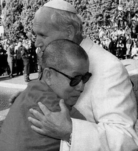 Giovanni Paolo II e il Dalai Lama