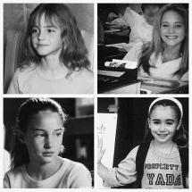 Le giovani Emma Watson, Jennifer Lawrence, Shailene Woodley, e Lily Collins