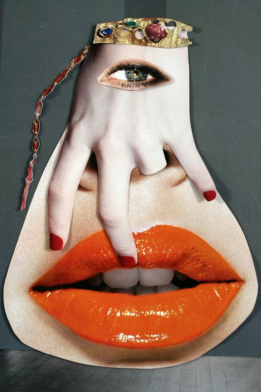 Collagedell'artista brasilianaVanessa Lamounier de Assis
