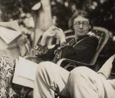 Virginia Woolf fotografata da Ottoline Morrell, 1926
