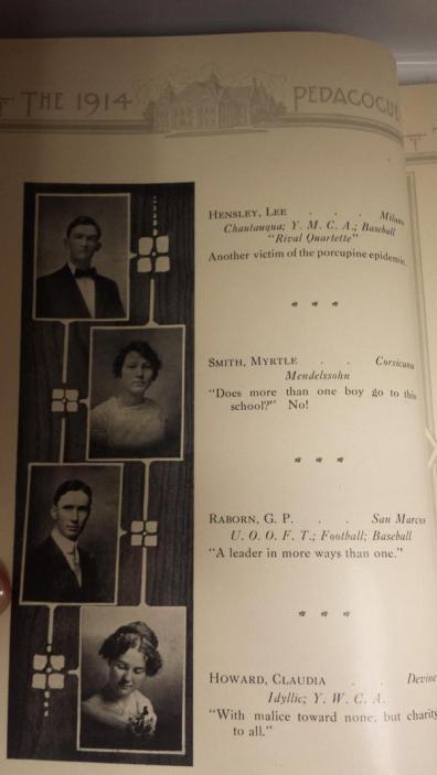 Annuario citazioni, 1914