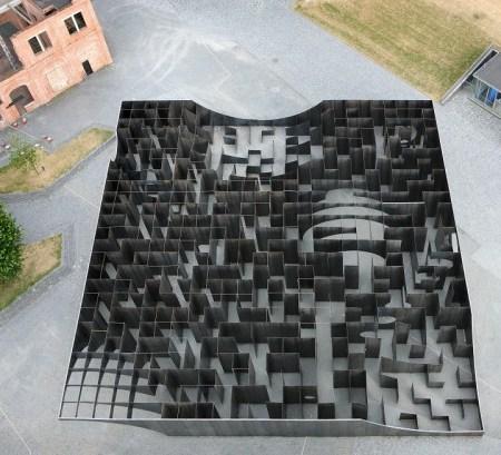 Gijs Van Vaerenbergh - Labyrinth – an exhibition of boolean voids