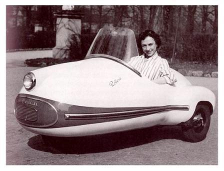 1951 Brutsch Rollera. Fotografia di Paul Malon