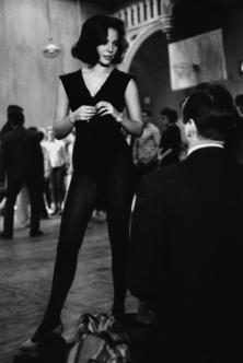 1960 - Natalie Wood alle prove di ballo per 'West Side Story'. Foto di Ernst Haas