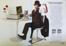 1981, IBM introduce il suo primo personal computer noto come PC IBM