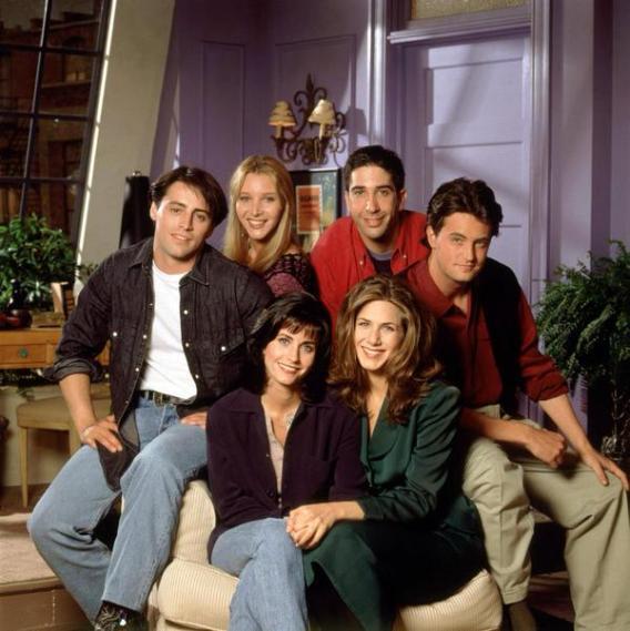 1994, cast della prima stagione di Friends