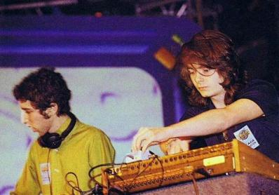 I Daft Punk senza casco negli anni '90
