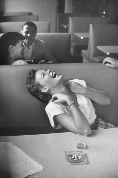 Una risata contagiosa, 1949. Foto di Lisa Larsen