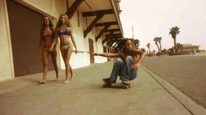 Un giovane skateboarder a Los Angeles, 1974