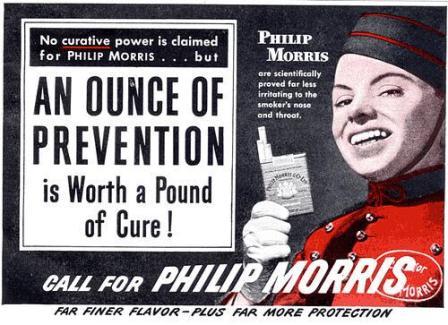 Pubblicità della Philip Morris