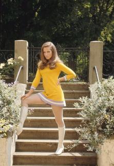Alexandra Stewart, fine del 1960 circa