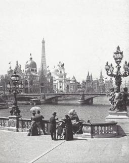 Ponte Alessandro III, Parigi, 1900