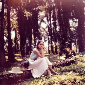Audrey Hepburn in Congo, 1958