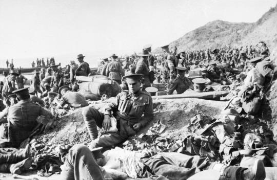 14 Agosto 1915 - Gallipoli