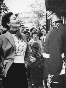 Ava Gardner a Londra, 1953