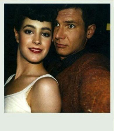 """""""Blade Runner"""" Polaroid by Sean Young, 1981"""