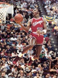 Michael 'Air' Jordan al 1985 'Slam Dunk Contest'