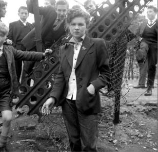 Teddy Girl inglese, 1955
