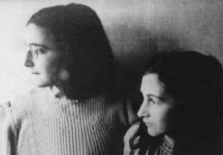 Ultima foto nota di Anna Frank e sua sorella Margot 1942