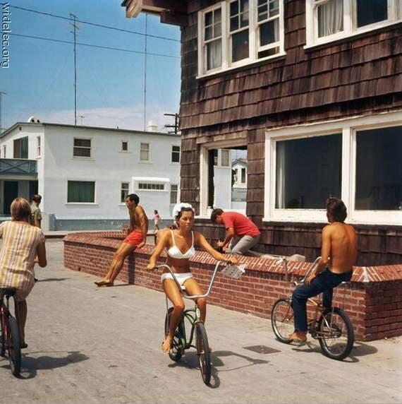 California, anni '60. Fotografia di LeRoy Grannis