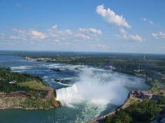 """Cascate del Niagara - Lato canadese """"Ferro di cavallo"""""""