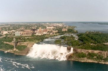 Cascate del Niagara - Lato americano