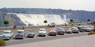 Cascate del Niagara, 1958