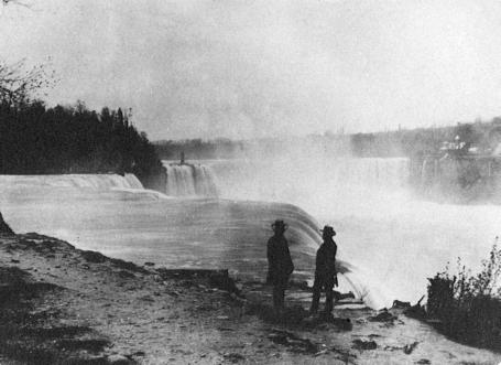 Cascate del Niagara nel 1850