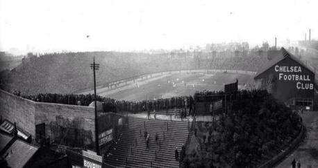Stadio del Chelsea nel 1950