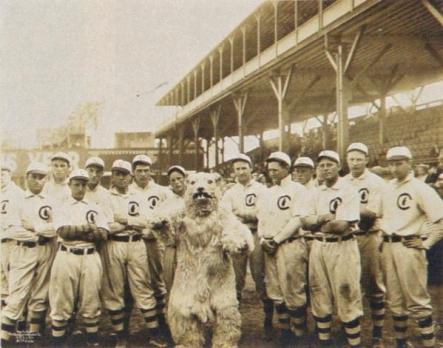 L'orribile mascotte dei Chicago Club, 1908